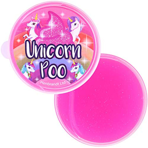 Unicorn Poo | Pink Glitter Slime | Squishy Stress Relief Toy | Gift Idea