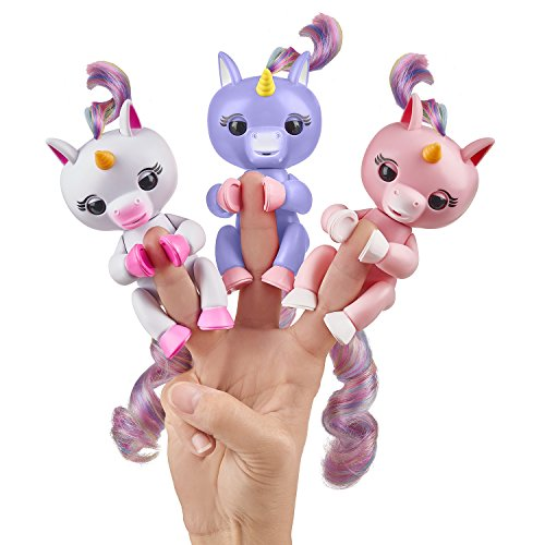 Unicorn Fingerlings In 3 Colours