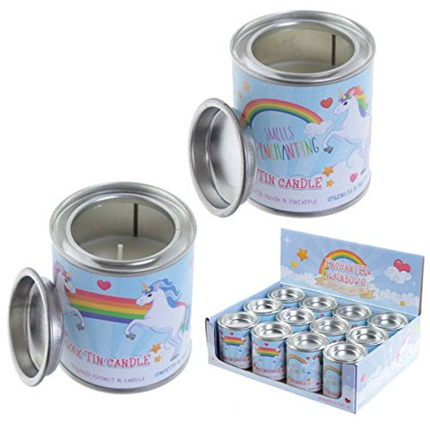 Magical Unicorn | Fragranced Soya Candle Tin | Gift Idea