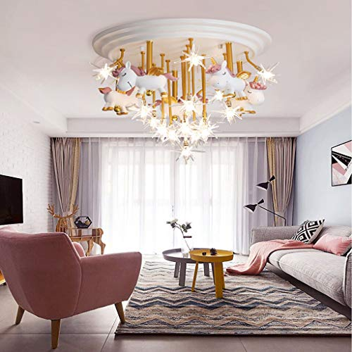 Stunning Unicorn Ceiling Light