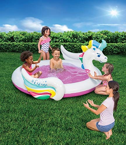 unicorn paddling pool
