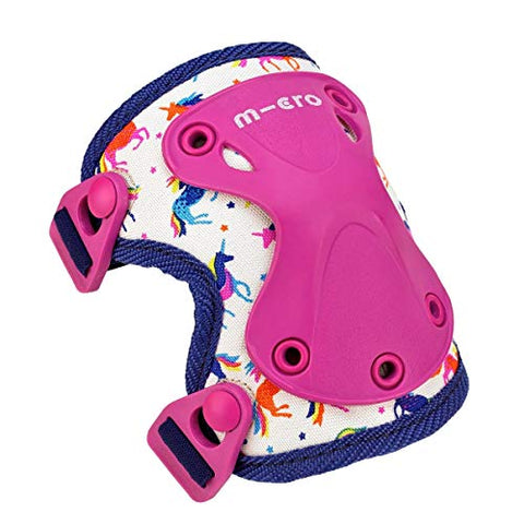 Micro Unicorn Knee And Elbow Pads | Protection For Scooter, Bike, Skate Safety |  Girls 3-7 Years