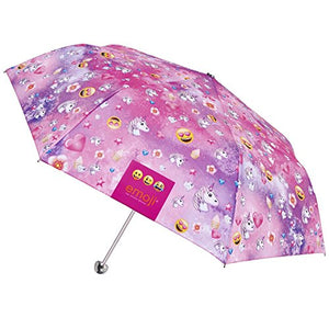 Unicorn Emoji Print Umbrella For Girls