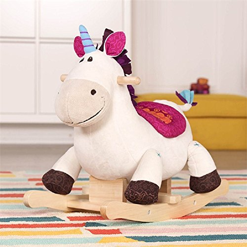 Wooden Toddler Unicorn Rocker