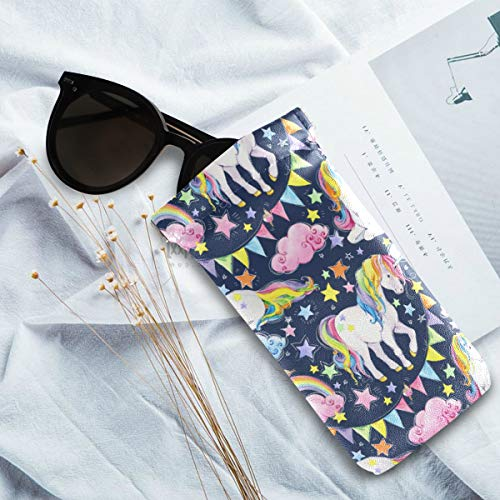 Colourful Unicorn Sunglasses Pouch Case