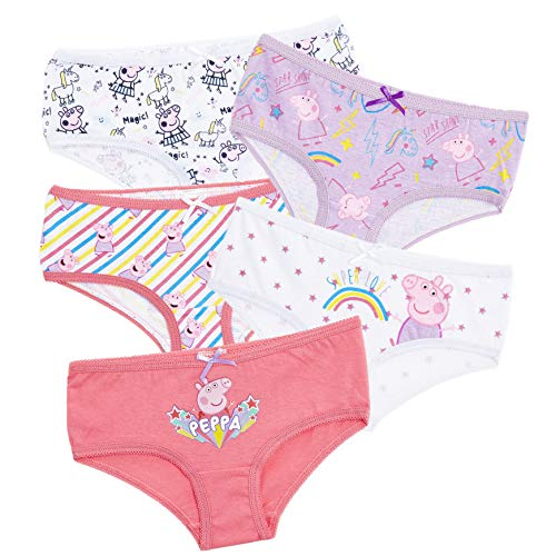 Peppa Pig Girls Unicorn Knickers