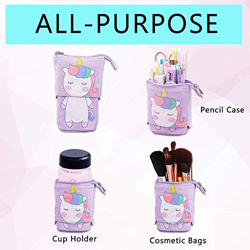 Multi Purpose Unicorn Pen, Make Up Holder, Cup Holder
