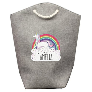 Personalised unicorn storage bag. Can be used as a laundry bag or toy storage  sc 1 st  Unicorn Shop UK & Unicorn Laundry Bags | Buy Online - Up to 50% OFF! u2013 All Things Unicorn