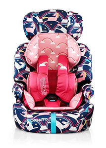 Cosatto Zoomi Grp 123 Anti Escape Car Seat (Magic Unicorns)