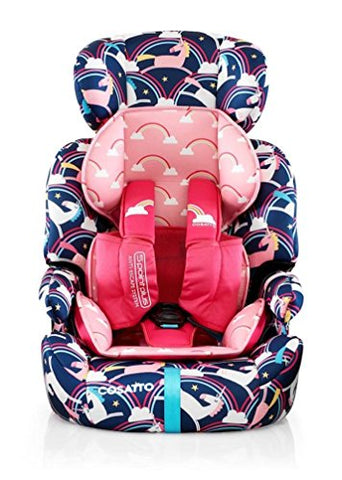 Unicorn Rainbow Cosatto Car Seat