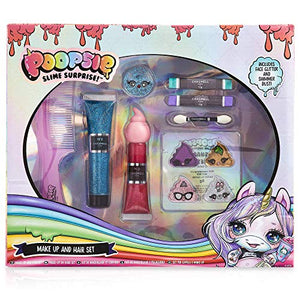 Poopsie Unicorn Surprise Hair & Make Up Set For Girls | Gift Idea