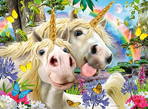 Be Happy Unicorn puzzle kids