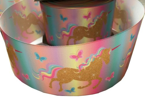 Unicorn Ribbon Wrap For Birthday Cakes And Wedding Cakes