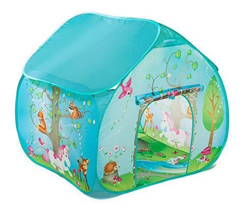 unicorn pop up forest play tent house