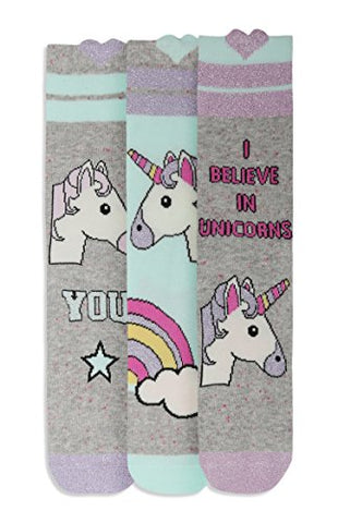Unicorn Mint Pack of 3 socks UK 4-8 / EUR 37-42 One size Womens Socks