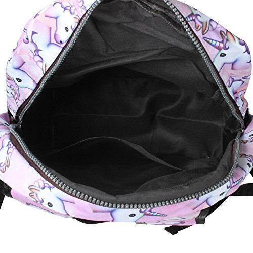 unicorn backpack interior large capacity
