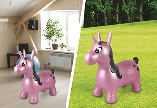 Garden toy unicorn sit and ride toy