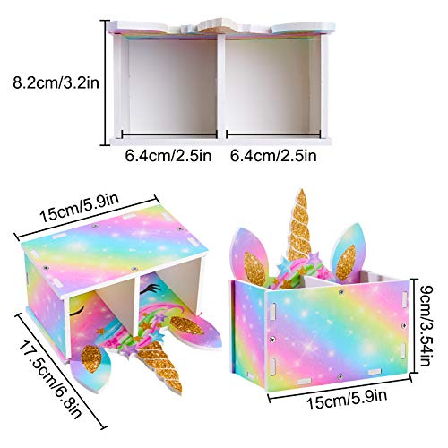 Unicorn Desk Organiser | Rainbow