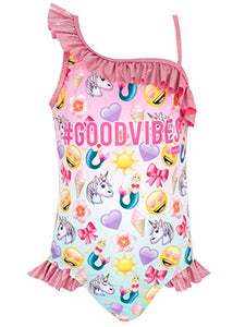 Unicorn emjoii swimming costume