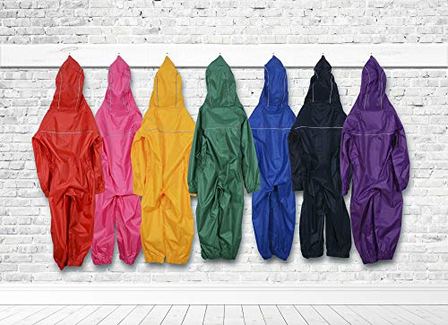 Colourful Puddle Suits For Kids Waterproof