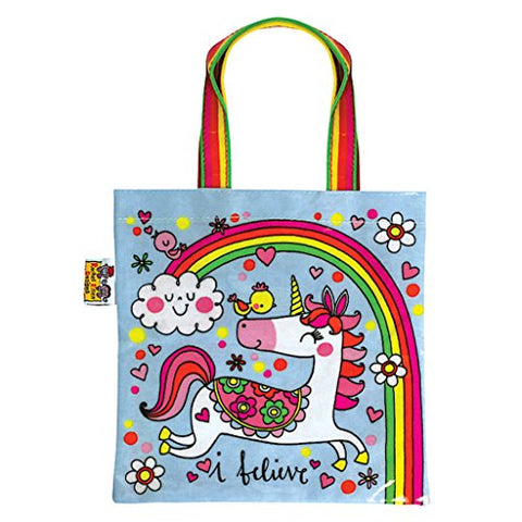 Rachel Ellen Girls Tote Bag Unicorn