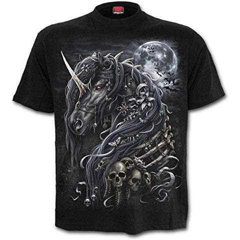 Spiral Men - Dark Unicorn - T-Shirt Black - Large