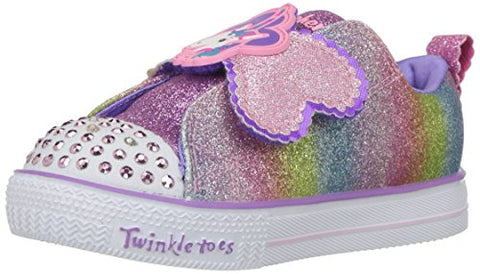 Skecher Sparkle Unicorn Slip On Trainers, Multicolour