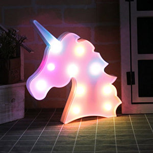 Unicorn Multicoloured LED Mood Light