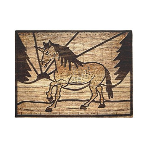 Unique Beautiful Unicorn Doormat
