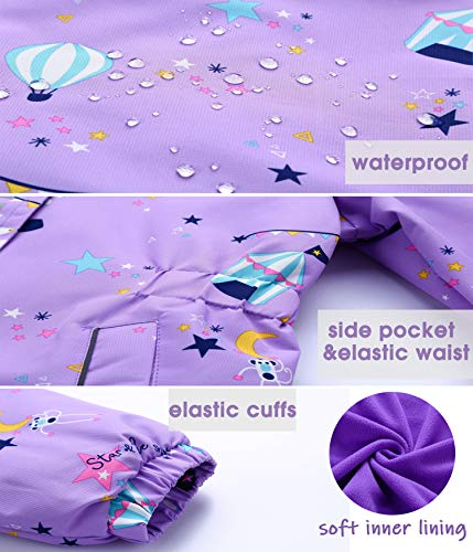 Waterproof Unicorn Jacket Purple