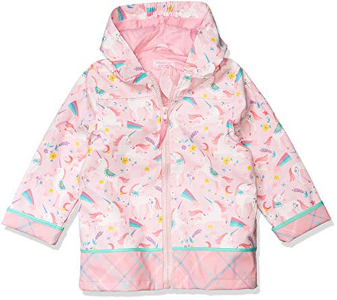 Stephen Joseph Girls | Pink Unicorn Raincoat