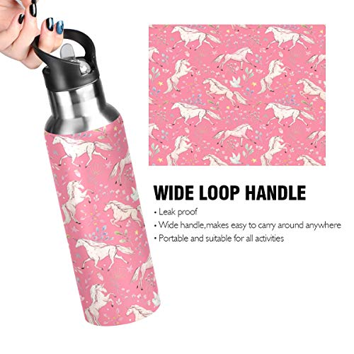 Unicorn Stainless Steel Water Bottle | 600ml | Insulated