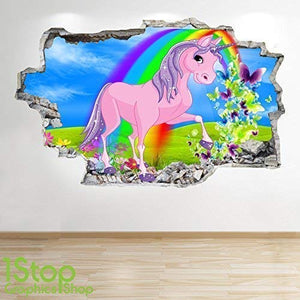 unicorn wall graphics