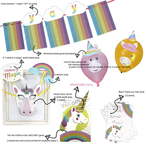 All in One Complete Unicorn Party Kit