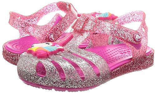 Girls Unicorn Glitter Jellies