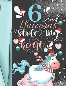 Christmas Unicorn Sudoku Puzzle Book For 6 Year Old Girls