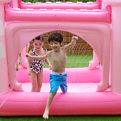 Teamson Kids Castle Paddling Pool - Pink
