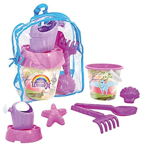 Kids Disney Unicorn Beach Sand Set In A Bag | Pink
