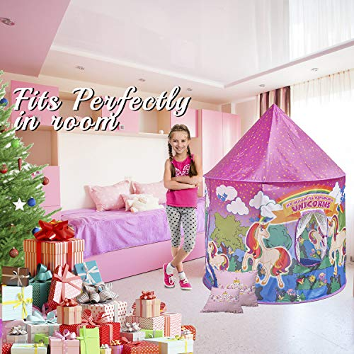 Pop up unicorn tent