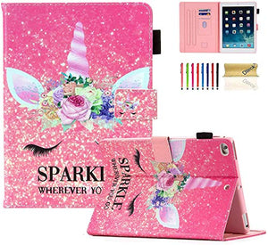 Sparkle Wherever You Go | Unicorn iPad Case | 8th/7th Generation 2019/2020