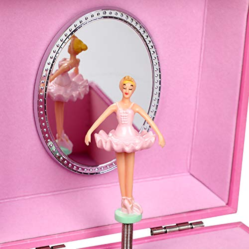 Ballerina Musical Jewellery Box Unicorn Design