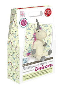 Knit your own unicorn toy