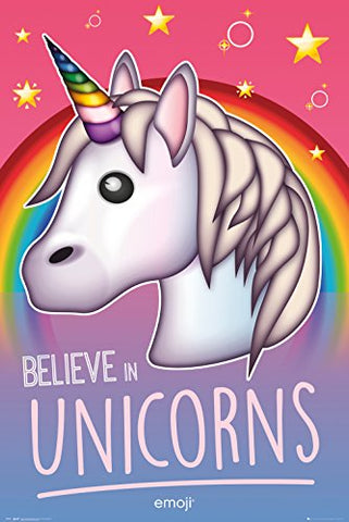 GB eye Ltd GB Eye, Emoji , Believe in Unicorns, Maxi Poster 61x91.5cm, Various