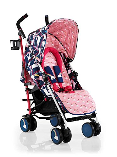 cosatto cossato supa super unicorn magic stroller push chair pram pushchair buggy blue wheels review