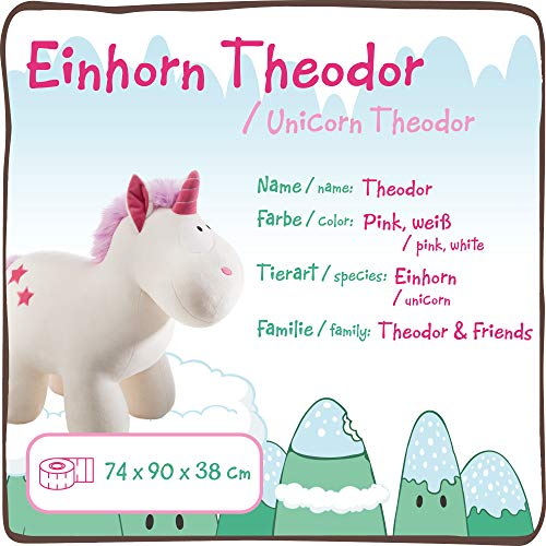 Unicorn Theodor Toy XXL 80CM