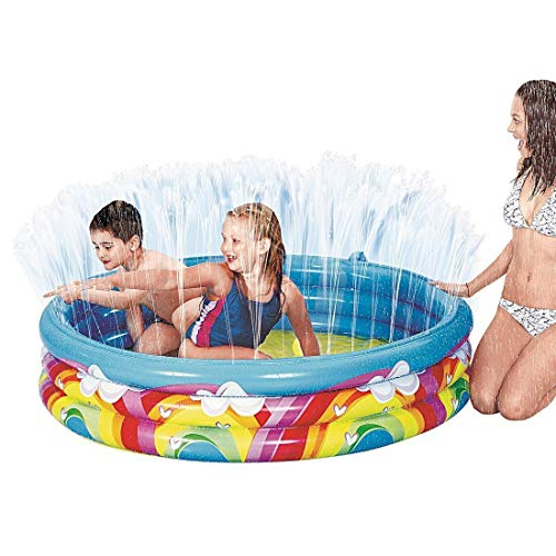 Rainbow unicorn paddling pool