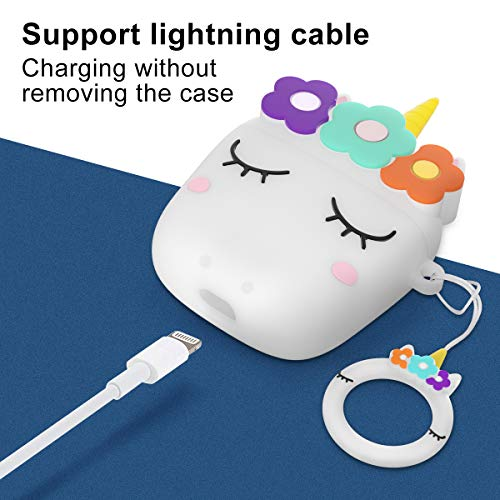 Charging, Protecting Case Unicorn Design | Airpods