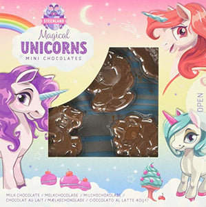 Unicorn Solid Shaped Chocolates, 40 g