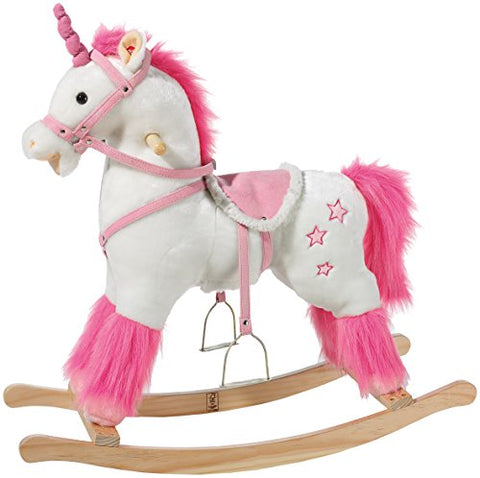 unicorn rocking horse
