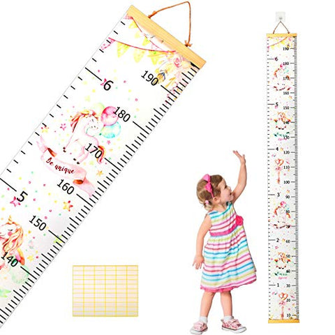 Unicorn Wall Hanging Measurement Height Chart |  Kids Bedroom, Playroom